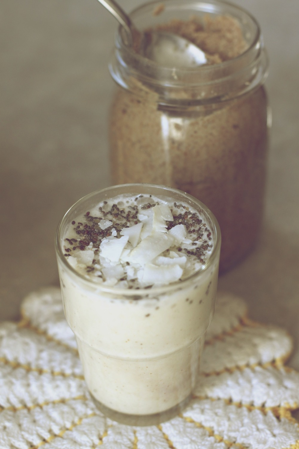 banana coco-nutty smoothie