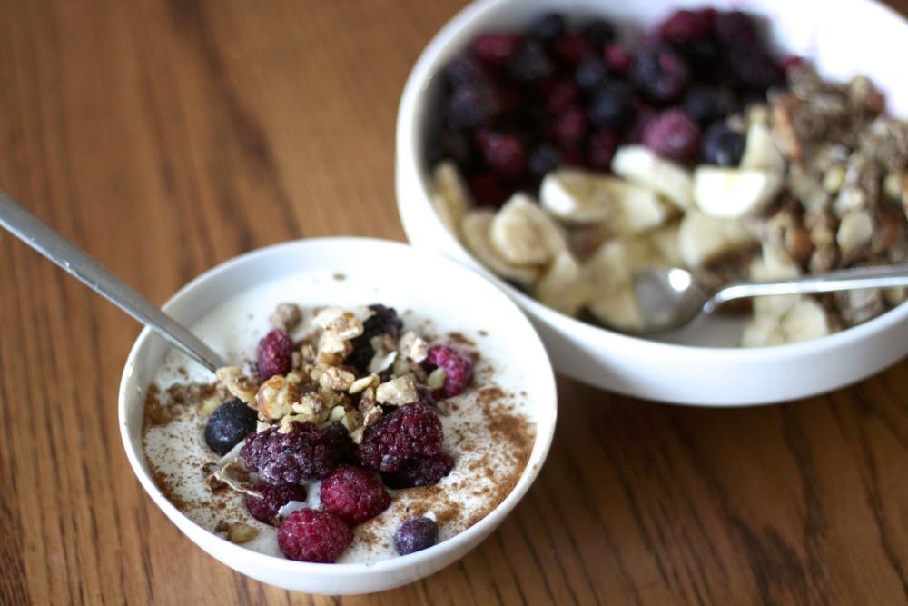low carb/paleo kids: 4 new ways to serve yogurt