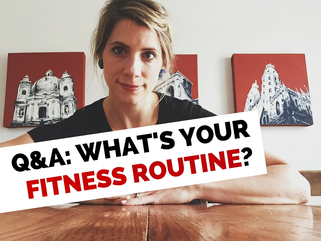 Q & A- What is your fitness routine- (1)