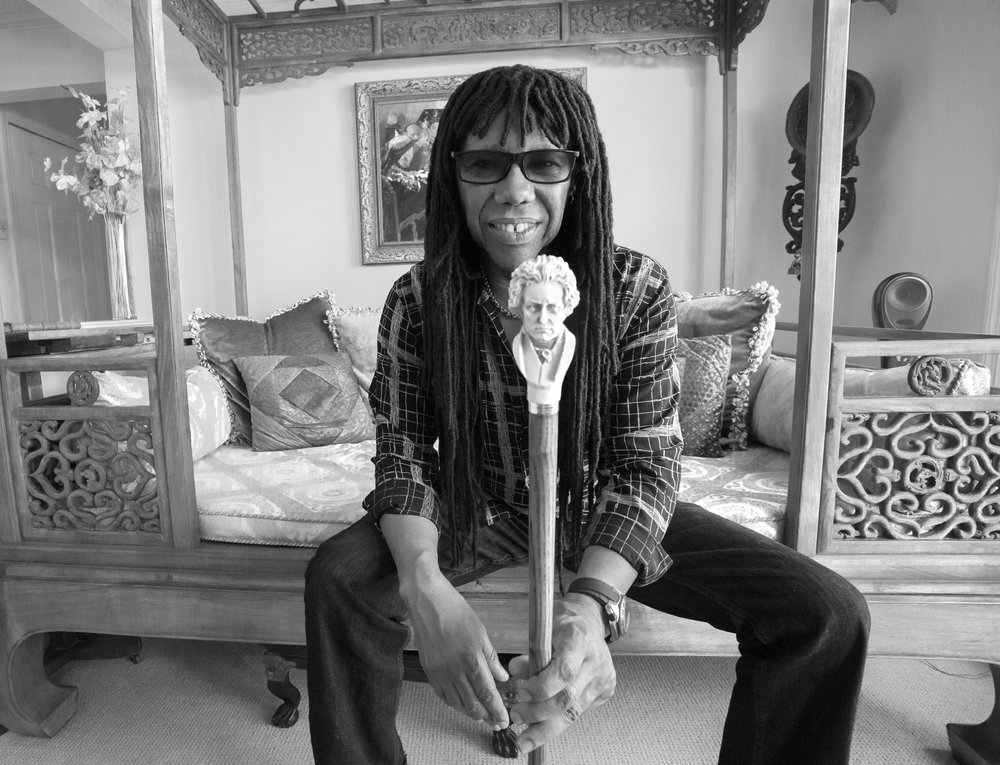 NILE RODGERS by MICK ROCK