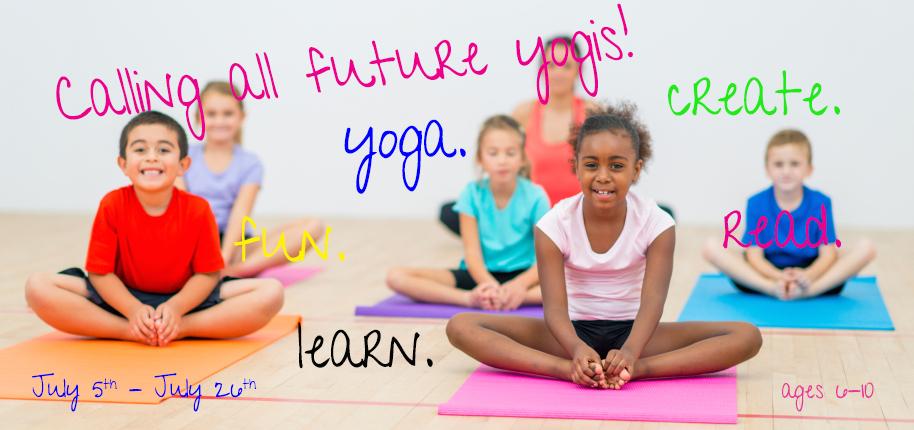 United We Om Yoga-Kids Yoga Summer Program