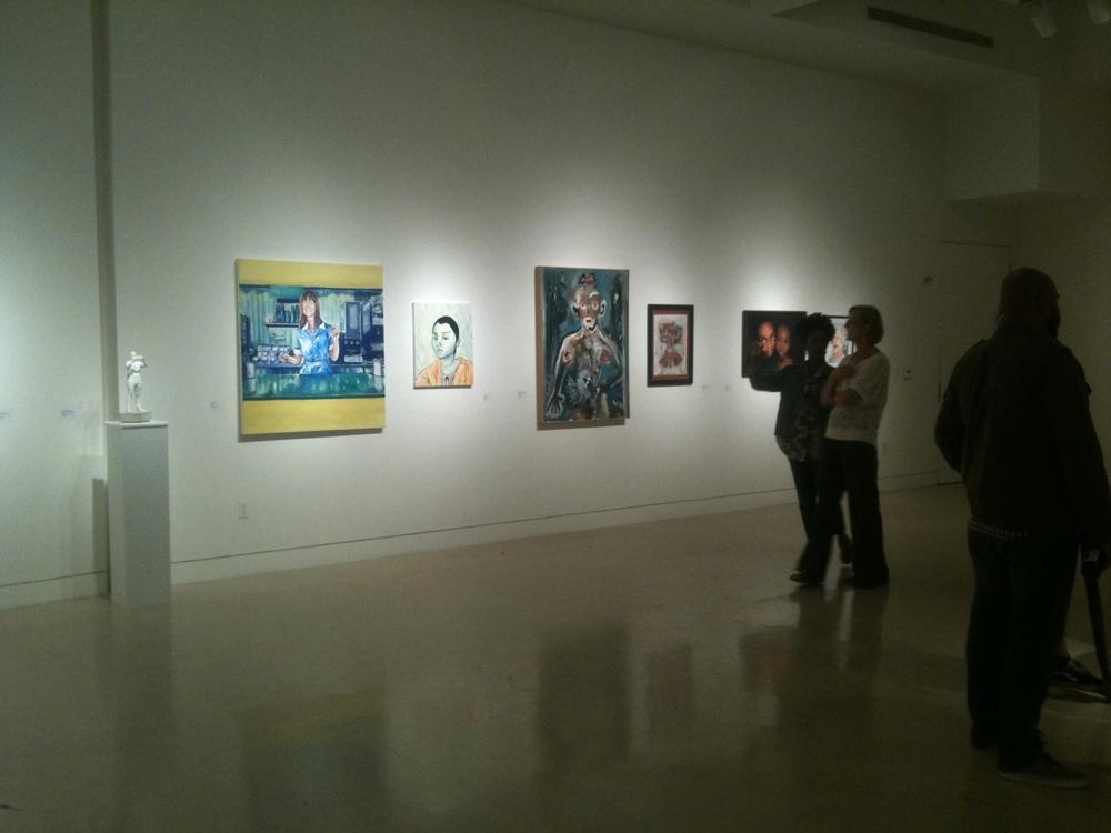 Art Exhibition at Torrance Art Museum, CA