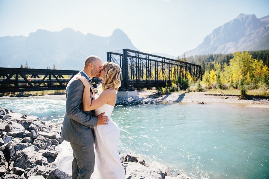 Canmore wedding hair