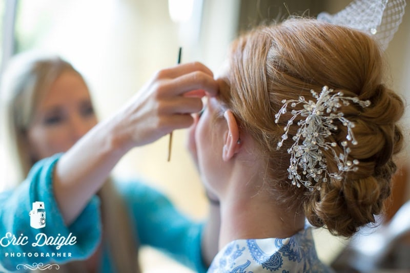 Banff wedding hair and makeup