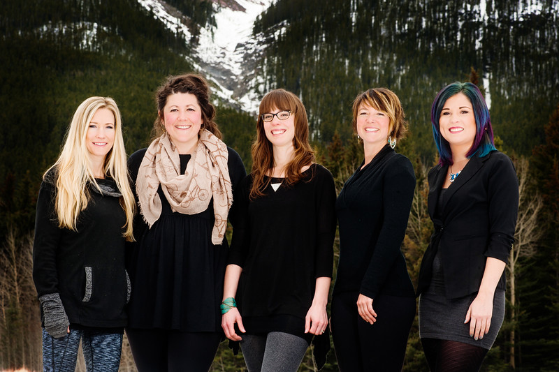 Canmore wedding hair and makeup