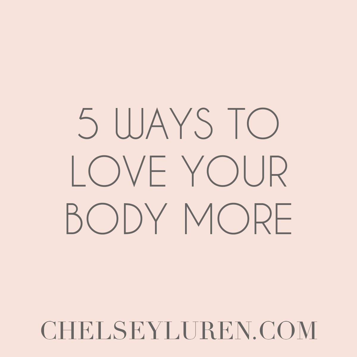 5 Ways to Love Your Body More - Vancouver Boudoir Photography
