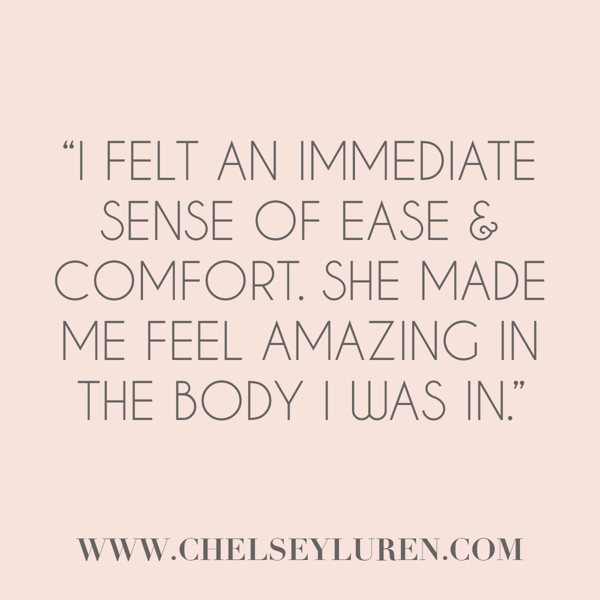 Vancouver Boudoir Photography - What to Expect Client Testimonial