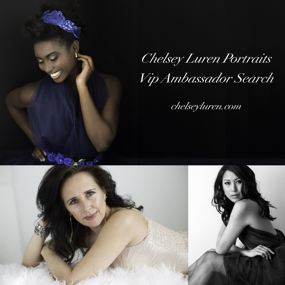 Chelsey Luren Portraits - Vancouver Glamour Photographer Ambassador Search