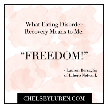 What Eating Disorder Recovery Means Vancouver portrait photographer Chelsey Luren Portraits and Libero Network