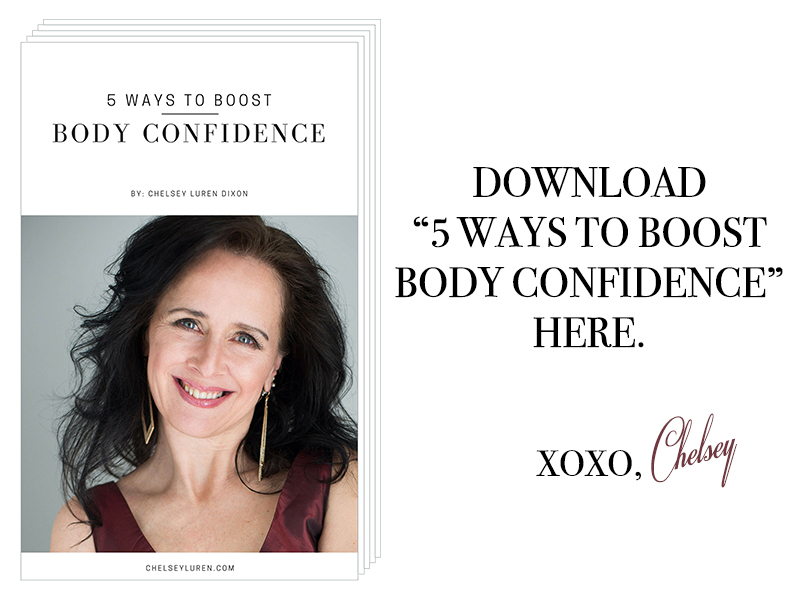 Vancouver Photographer Chelsey Luren Portraits 5 ways to boost body confidence ebook