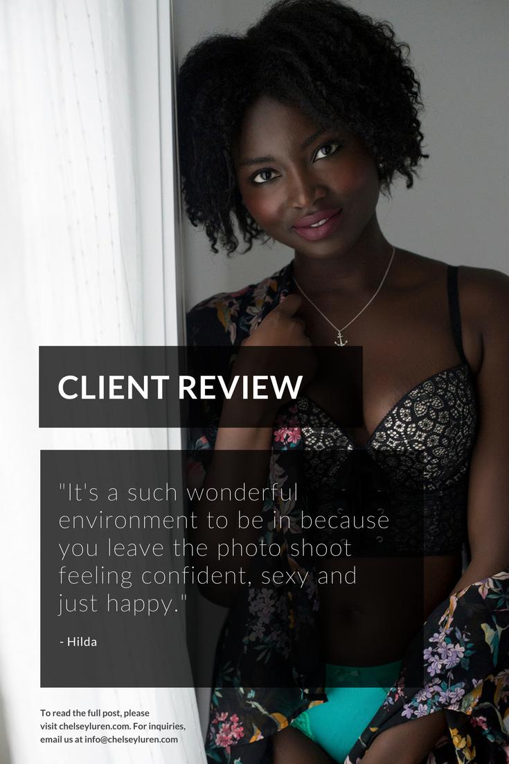 Hilda Photoshoot testimonial review of Chelsey Luren Portraits, Vancouver boudoir photographer.png