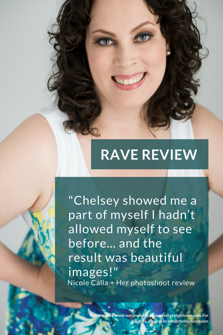 Eating Disorder Body Image Recovery Chelsey Luren Portraits