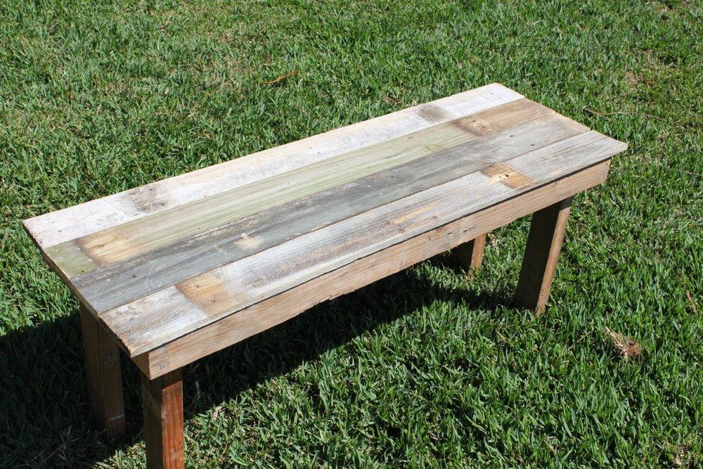 Timber Bench (400 x 1200). -