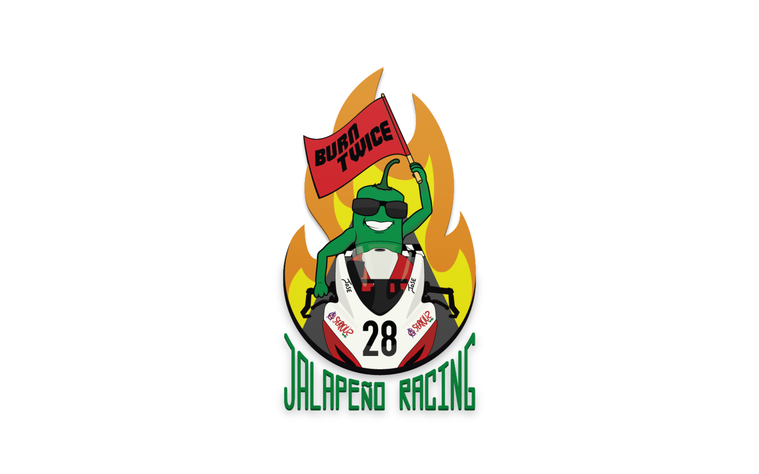Logos Stephen Zarra New Kids What Started As A Joke Amongst Friends Became Fun Logo For Afm Racer Jose Flores