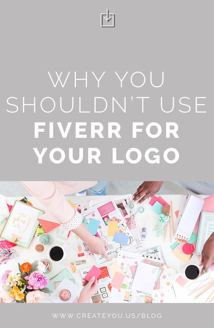 fiverr vs designer logos