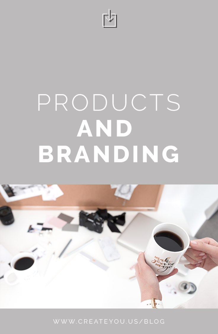 products and branding