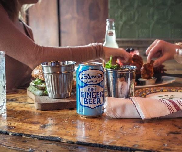 St. Patrick's Day Ginger Beer Cocktails
