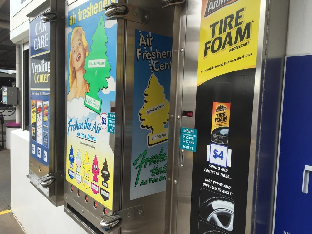 Purple Octopus Multiwash Car Wash Vending Machines
