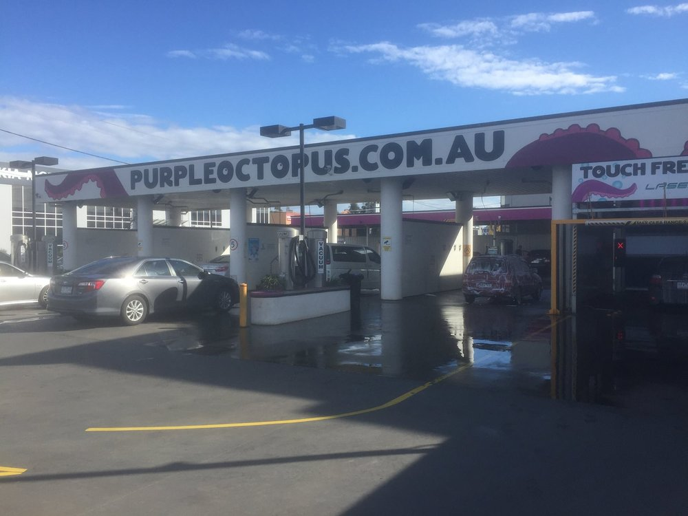 Purple Octopus Self Serve Car Wash