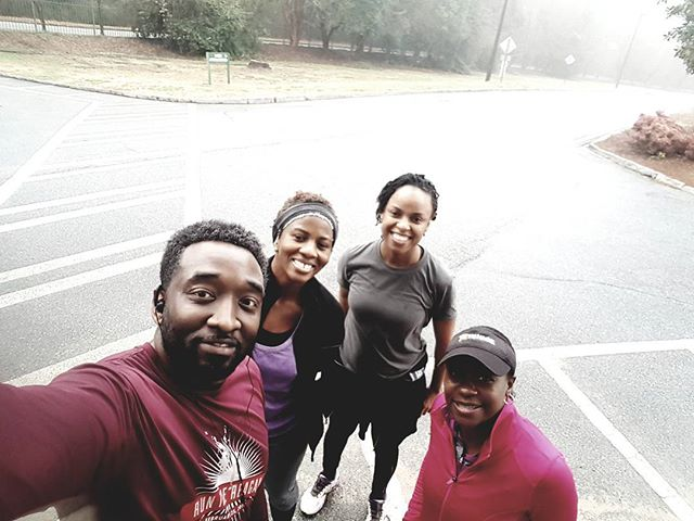 Been running for years...have met a lot of good peeps along the way. Great run this morning. 💯 ------------------------------------------------------------------------ #positivevibesonly #runnerlife #purpose #dontgiveup #instarunners #inspiration #runfamily #2018 #madinATL #borninWestLou #socialentrepreneur #atlanta #runATL #runChi #runNYC  #runLA #running #nikeplus #stylerunner #worldrunners #runrevolution #runolution #startwithwhy #instagood #diabetes #fightobesity #stillbelieve