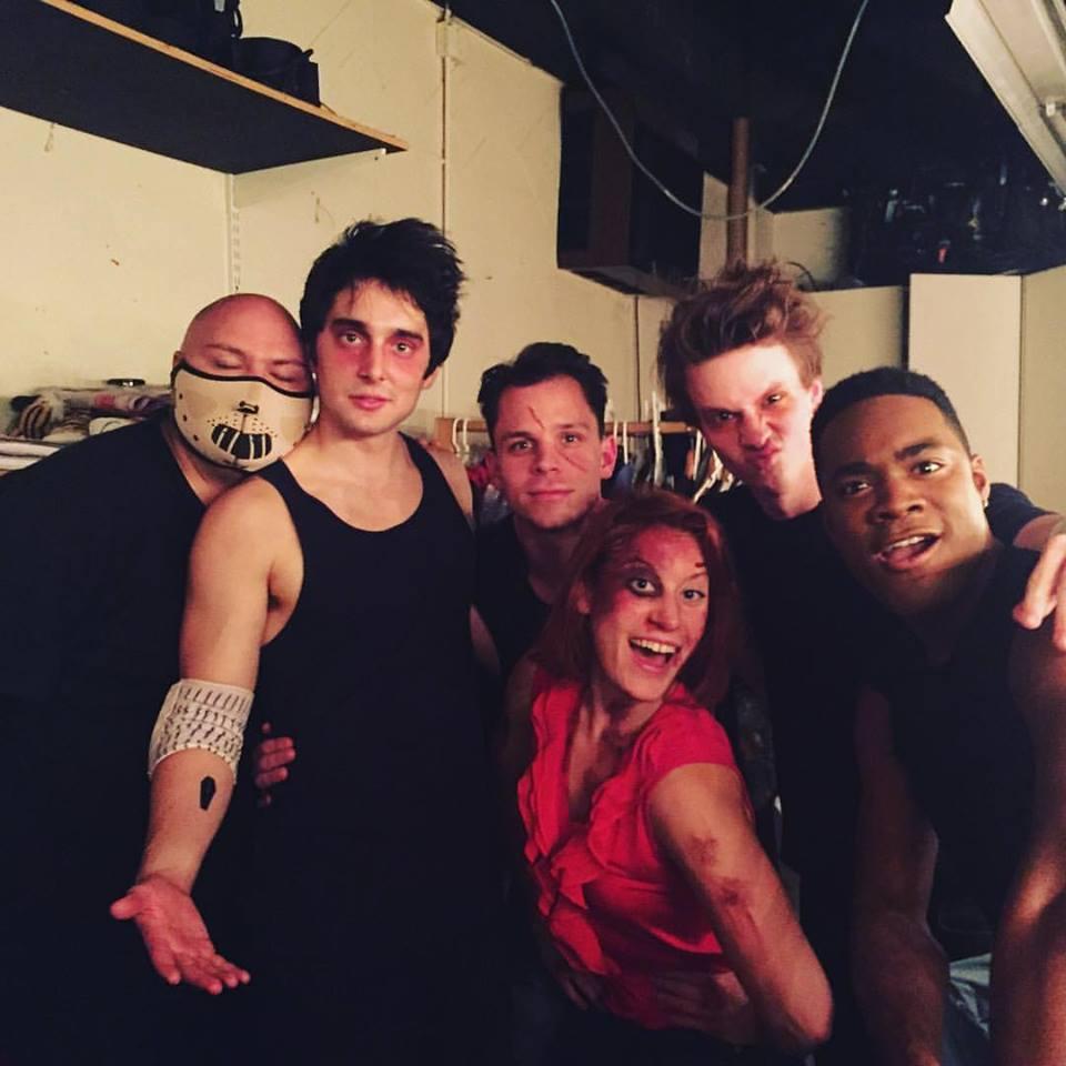 w. Aaron, Chris, Sarah, Jimmy & JeVon