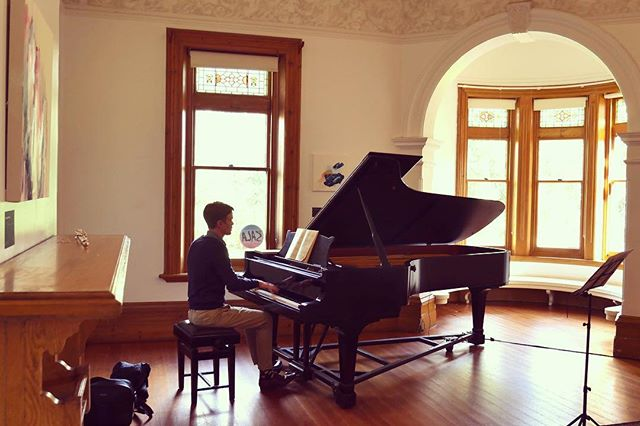 Emma and David are in Adelaide for the final of the Geoffrey Parsons Award, which will be held in this lovely space at Carclew  #piano #flute #accompaniment #geoffreyparsonsaward #carclew #adelaide