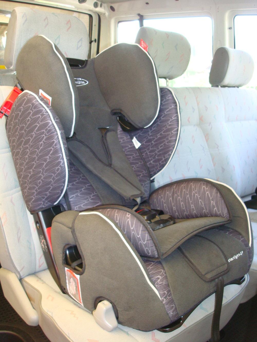 Mietfahrzeug Kindersitz