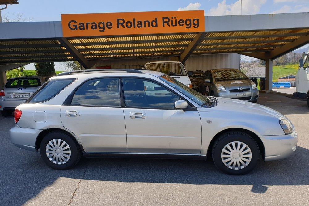 Garage Roland Rüegg - Mitfahrzeug Subaru 4x4