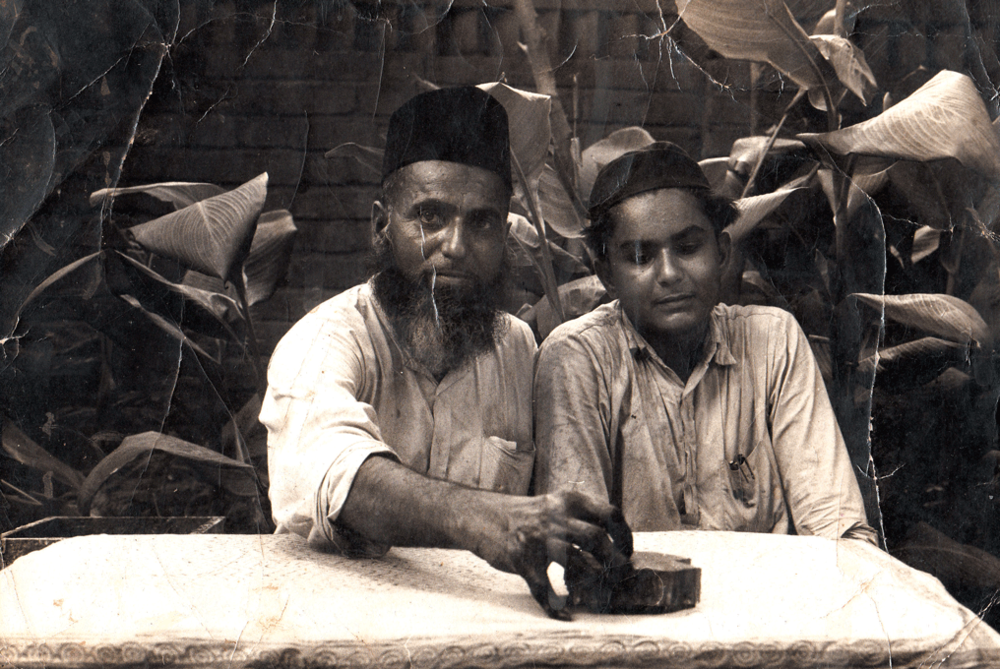 Mohammed Siddiquebhai Khatri and his son, Razzaque Khatri