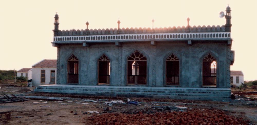 New mosque, Ajrakhpur
