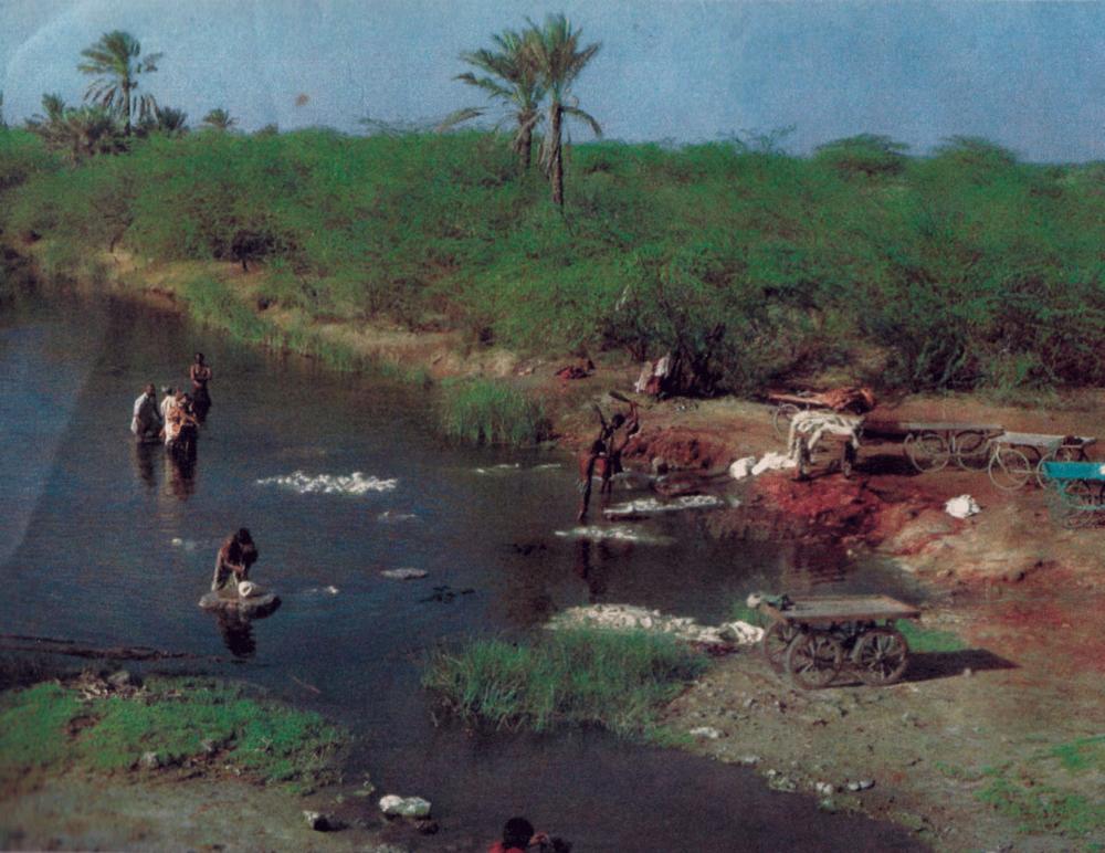 River Saran, Dhamadka, 1990s