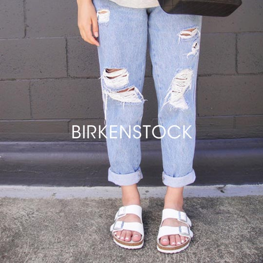 Shop Birkenstock at 69b Boutique.