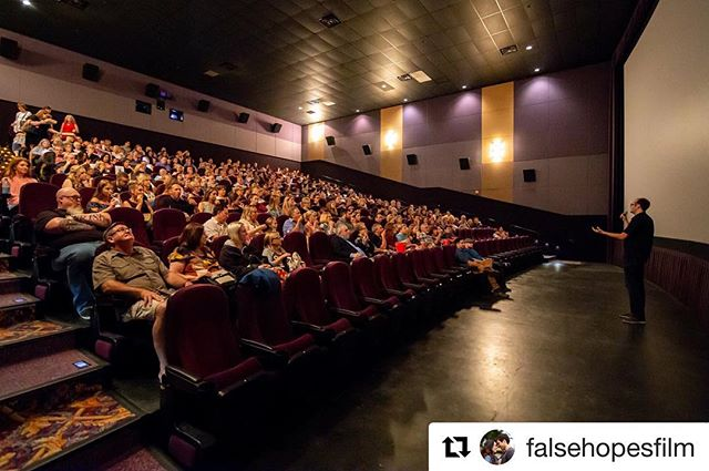 #Fbf My @falsehopesfilm fam ❤️ #Repost @falsehopesfilm ・・・ Flashback Friday to our False Hopes premiere! We were so blessed; over 400 people came out to see and support this film and everyone involved. The Q&A was so fun, thank you all for your amazing feedback. We can't wait for the next steps for this film and the entire False Hopes Family! God bless you ❤️📸