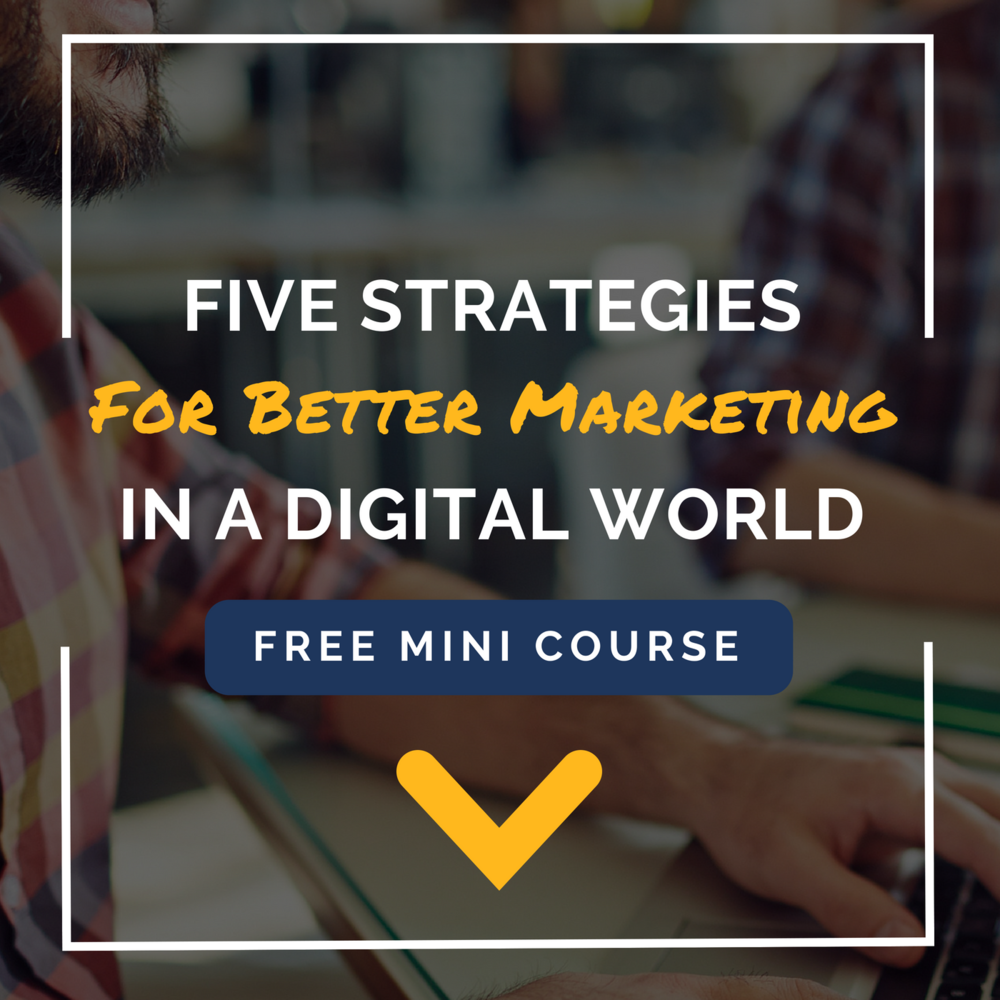 Josh Hoffman's Digital Marketing Mini Course