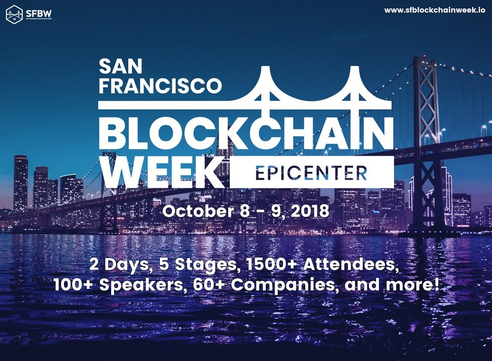 San Francisco Blockchain Week - Epicenter