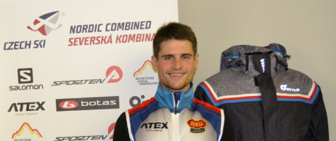 Miroslav Dvořák – Nordic combined team Dukla Liberec, elite Czech skier