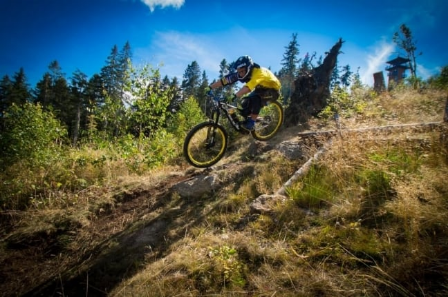 Milan Myšík - 3. DownMall tour 2015, fourcross champion ČR (men – Elite), 5th at European Championship, 6th at World Cup, 2nd at European Cup, ČR MTB ENDURO (3rd Czech Cup, 7th European Cup)
