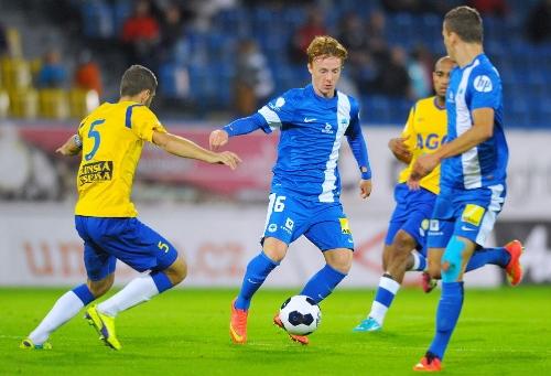Daniel Dydowicz playing for FC Slovan Liberec