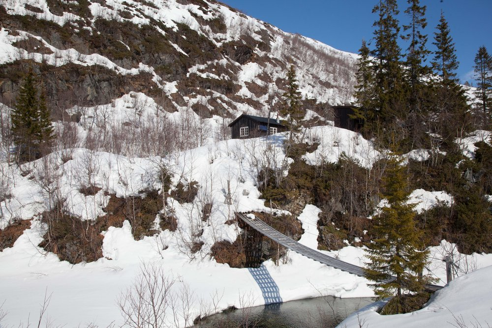 Almdalshytta - Nordli - Vestre Finnli statsallmenning