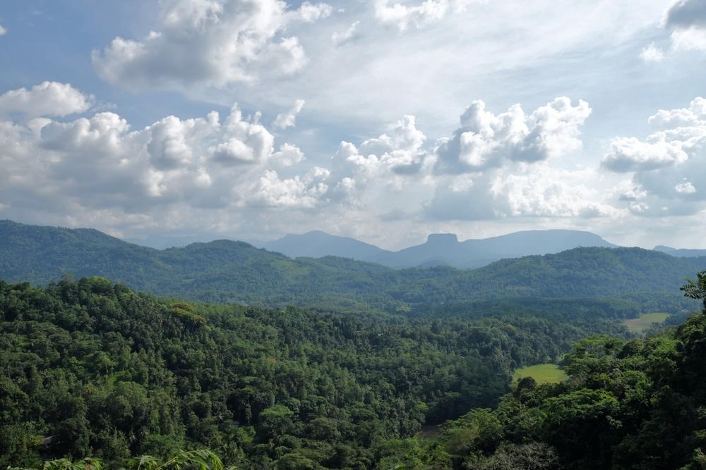 Bible Rock in central Sri Lanka