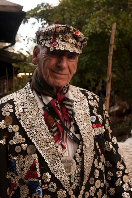 Alf Dole, Pearly King of St Pancras