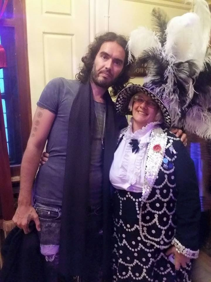 Pearlies of St Pancras with Russell Brand