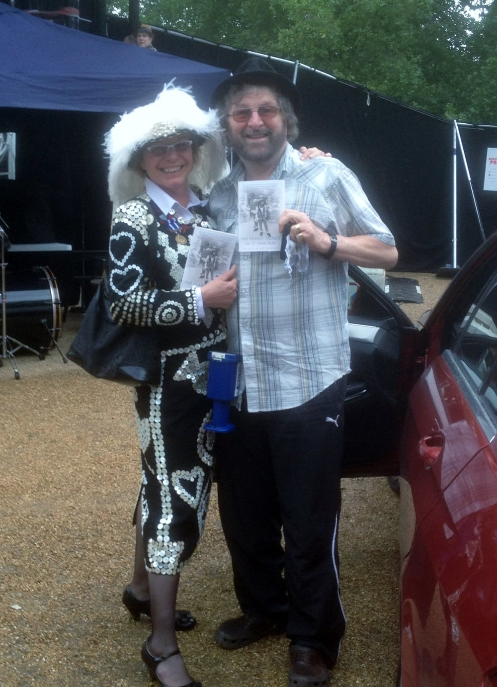 Di with Chas and Dave