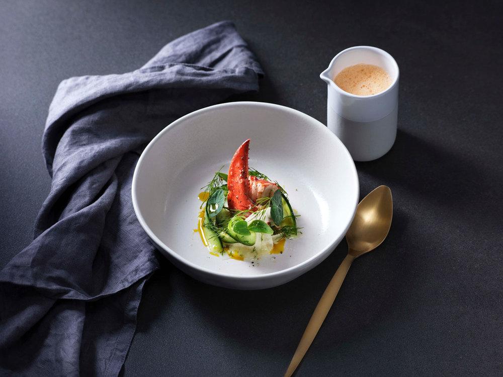 Styling för Arla, Årets kock. Foto: Pelle Lundberg