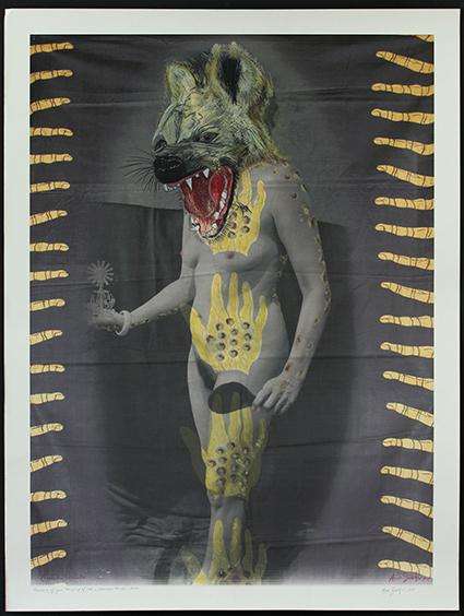Crocuta crocuta - (Hyena) (2017)