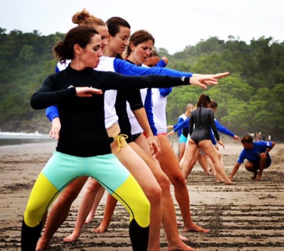 Yoga & Surf Retreat