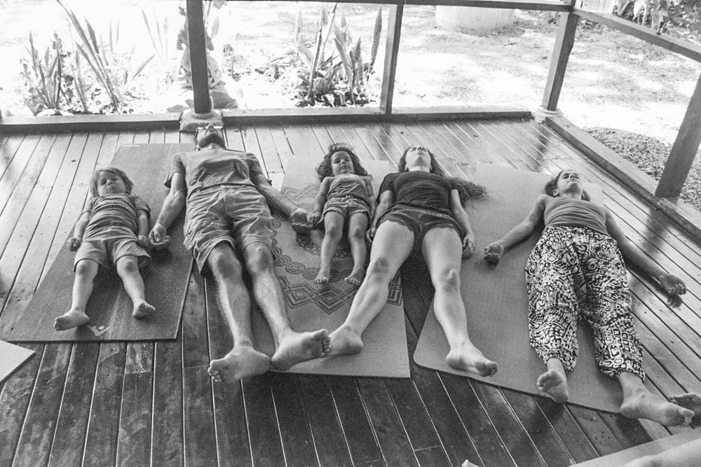 Family Yoga Retreats. Photo credit: Raquel Rubin