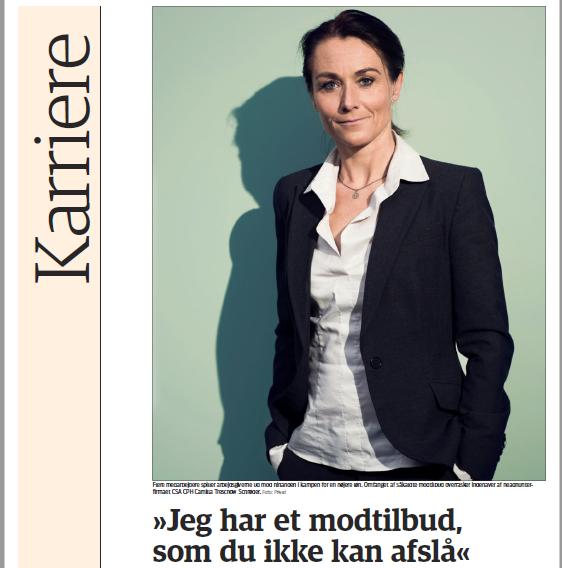 Link to article In  Jyllands Posten