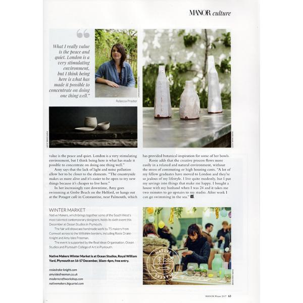 Manor Magazine - Winter 2017