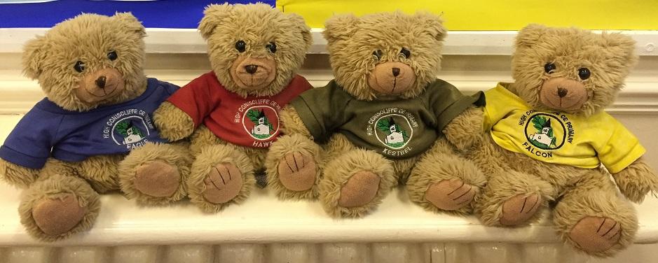 Our House Team bears